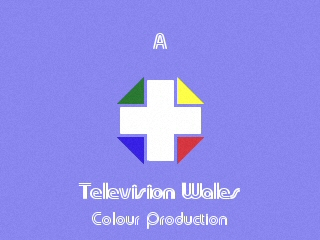 Television Wales 1975 production slide