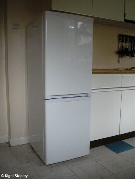 Photo of a fridge-freezer