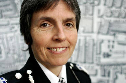 Photo of a woman police officer