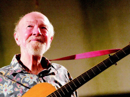 Photo of Pete Seeger